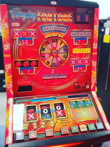 Freeplay Fortune Fruit Machine on £100 Jackpot